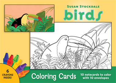pf stockdale birds coloring cards