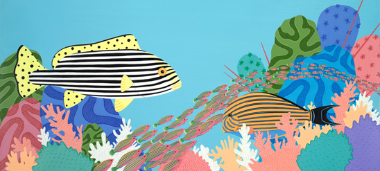 stripes fishes
